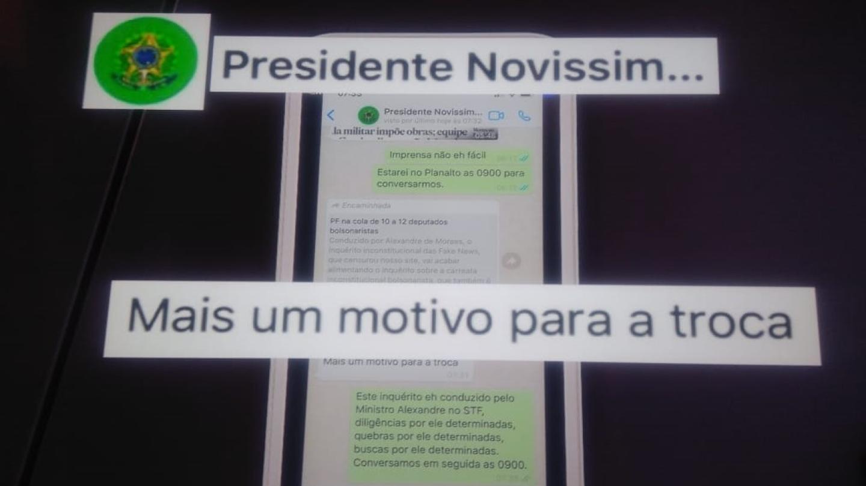 Moro divulga diálogo em que Bolsonaro fala em troca de comando da Polícia Federal