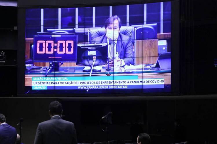 Rodrigo Maia descarta retorno das atividades presenciais na Câmara